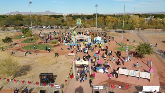 Creative Playground Park in Yuma AZ