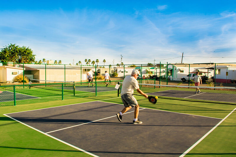 What is Pickleball? | Friendly Acres RV Park